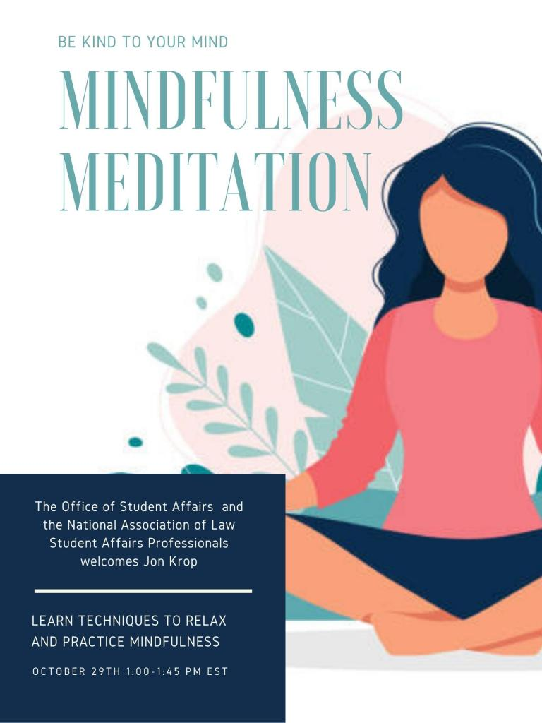 Meditation Mindfulness Flyer