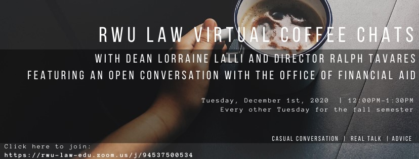 Virtual Coffee Chat Flyer