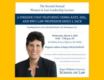 Women in Law Leadership Lecture