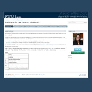 Mobile Apps for Law Students