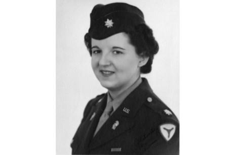 Major Florence Murray of the Women's Army Corps