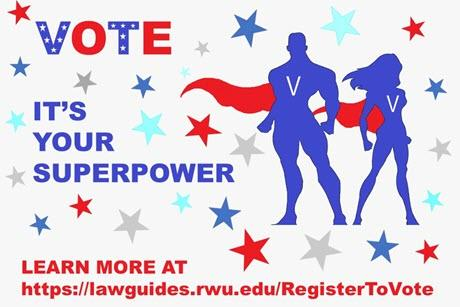 VOTE It's your superpower