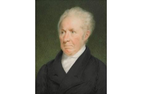 Portrait of Gilbert Stuart