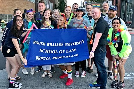 RWU Law in Pride ParaDE