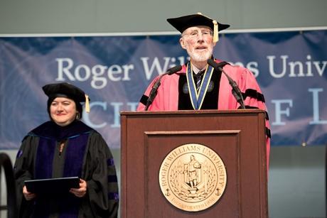 President Farish at RWU Law Commencement