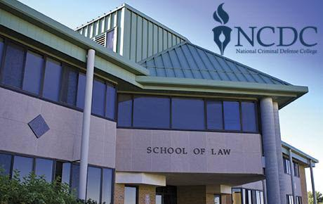 ncdc logo and RWU law building