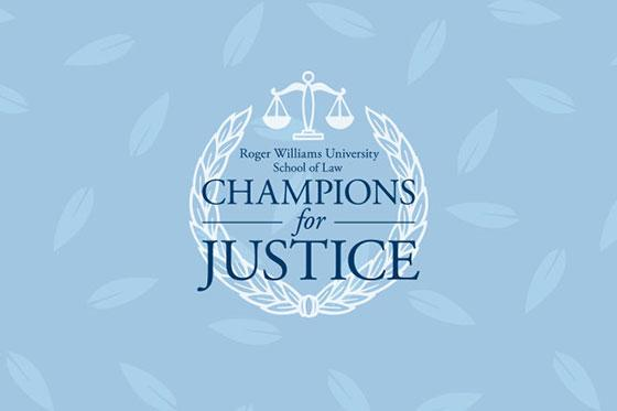 The Champions for Justice logo.