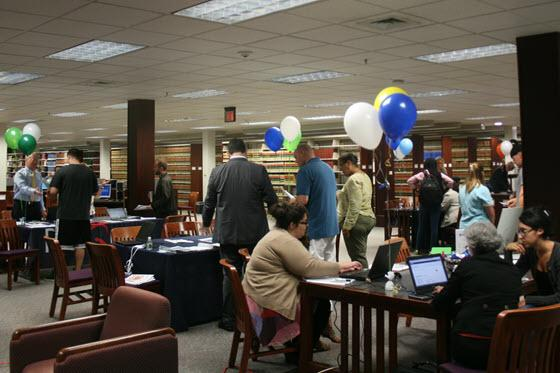 Event being held in the Law Library